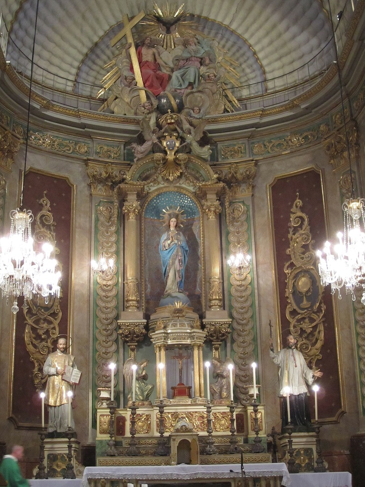 Main altar, St. Ignatius Church, Manresa, Spain. Taken by David Claudon.