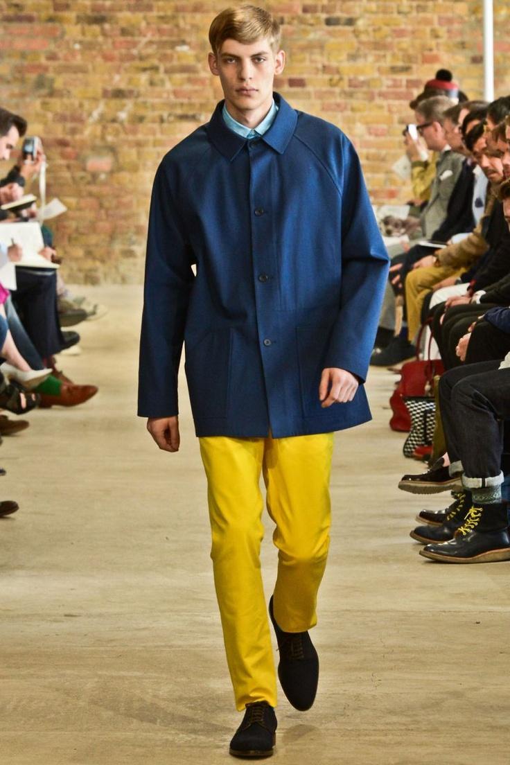 E. Tautz Spring/Summer 2013Menswear Jacketcoat, Pop Art, Men Style, 2013 Menswear, Menswear Inspiration, Menswear Collection, But 2, 013, Spring 2013, Menswear Spring