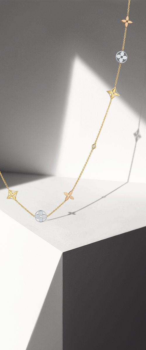 For the woman who captivates: the Louis Vuitton Monogram Fine Jewelry Collection