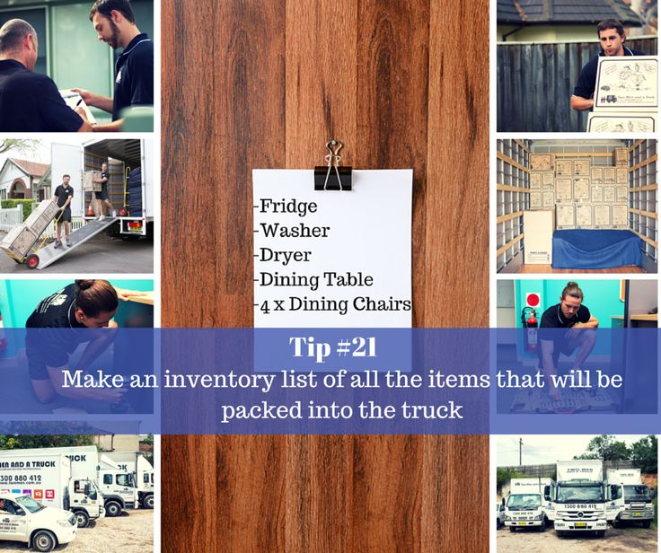 This weeks #moving #tip may sound a little tedious, however doing so will make a world of difference that will save you time and money. Knowing exactly what's going in the truck will ensure you get the right amount of men and the right size truck - Only Pay for what you need! It will also make sure everything can be accounted for, so nothing goes missing.