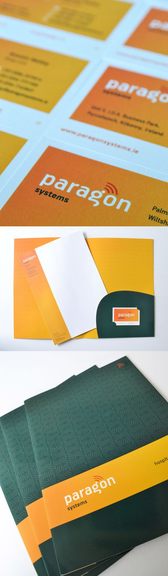 Paragon Systems provide IT solutions for the Hospitality Sector within Ireland and the UK. This meant duplicate stationery, catering for both offices. www.akgraphic.ie