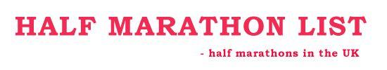 2014 UK Half Marathon List
