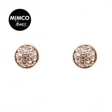 MINI CRYSTAL DOME STUD - Earrings - Jewellery - Mimco