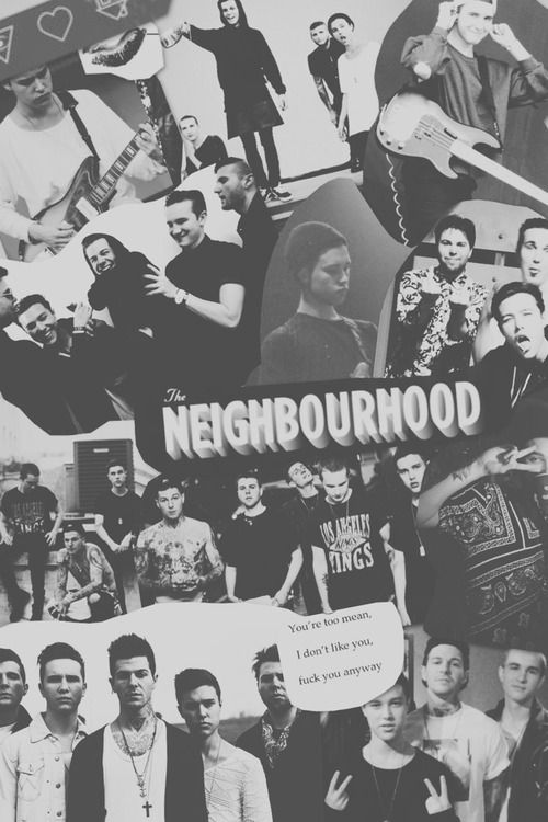 collage of the neighbourhood by BaharFirooz | We Heart It