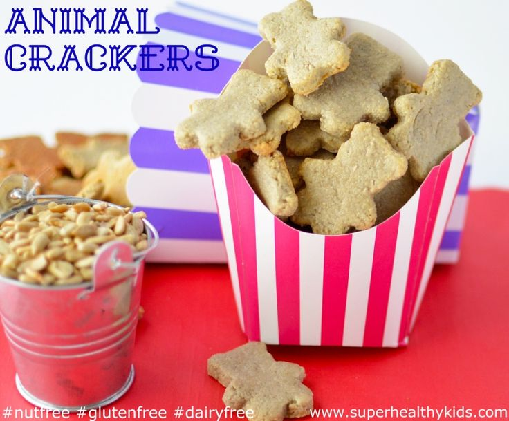 animal crackers for super healthy kids