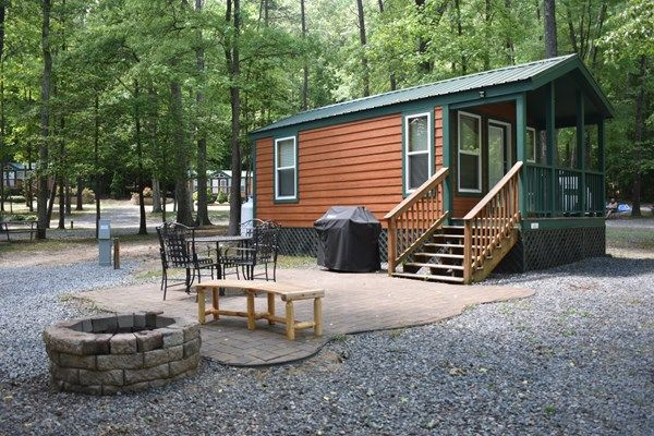 Deluxe Studio Cabin With Patio Complete With Gas Grill And Fire Ring At The Frdericksburg Washington Dc South Koa Holiday Ruidoso New Mexico Patio Studio Cabin