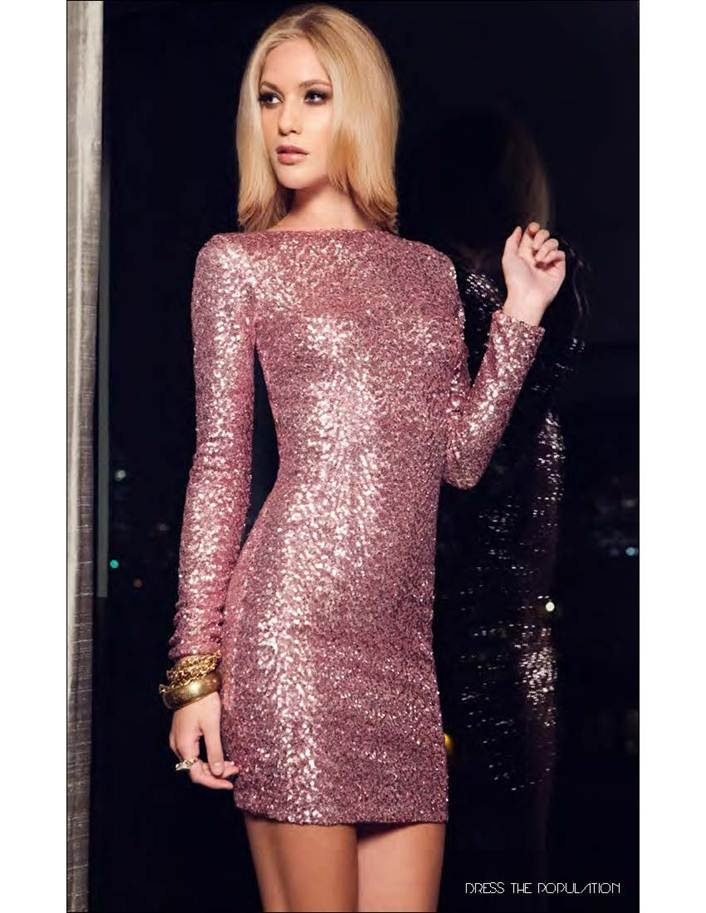 Holiday Party Dress: Holiday Dresses, Fabulous Dresses, Holiday Party Dresses, Rose Gold Dresses, Fashion Styles, Hot Dresses, Mini Dresses, Population Lola