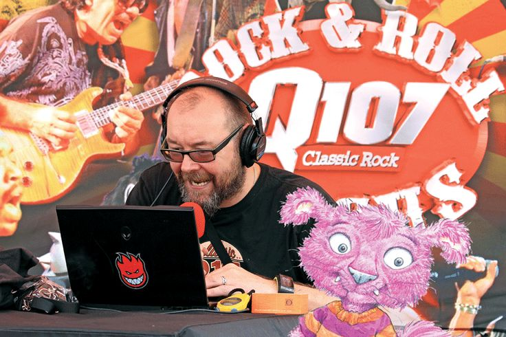 Hoogie on the Air with Q107 & CBC!