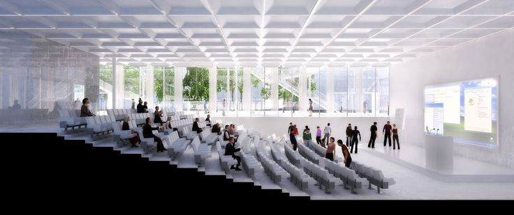 Gallery - Sou Fujimoto-Led Team Selected to Design Ecole Polytechnique Learning Centre in Paris - 9