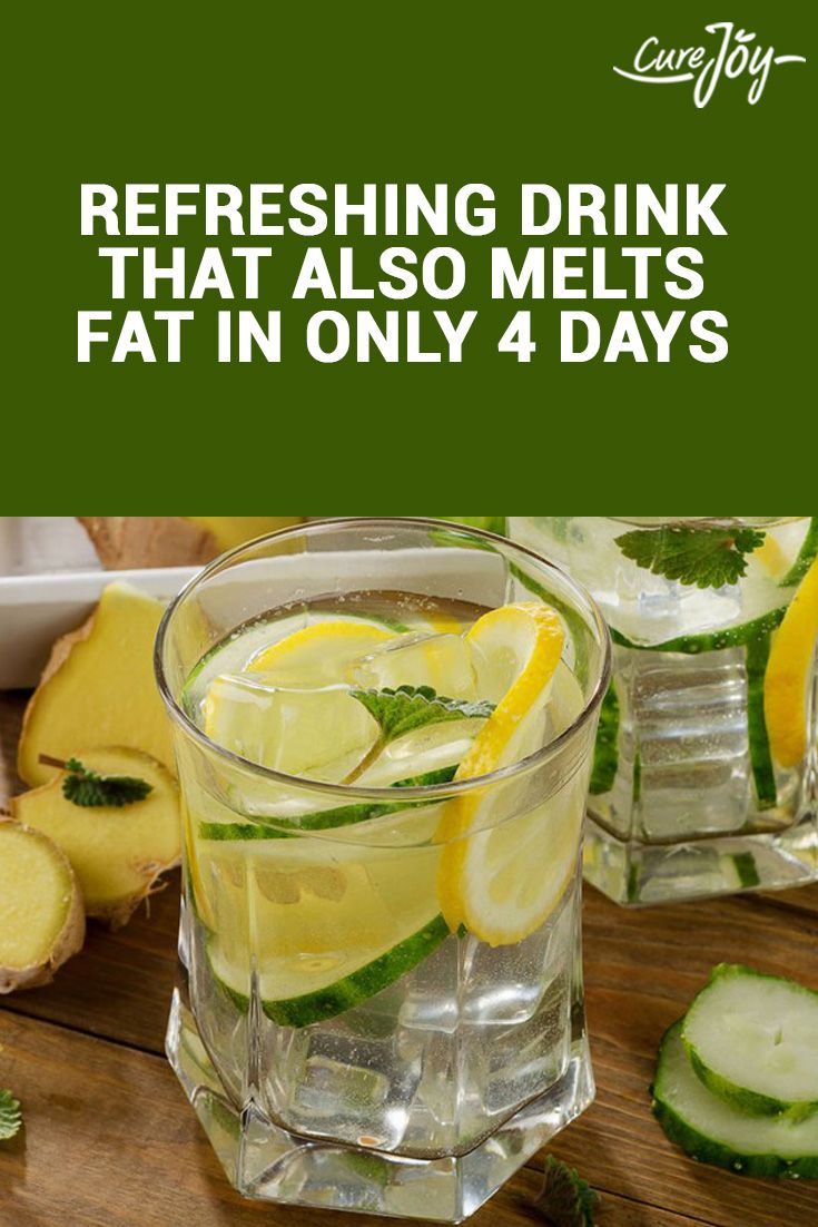 Refreshing Drink That Also Melts Fat In Only 4 Days ==>