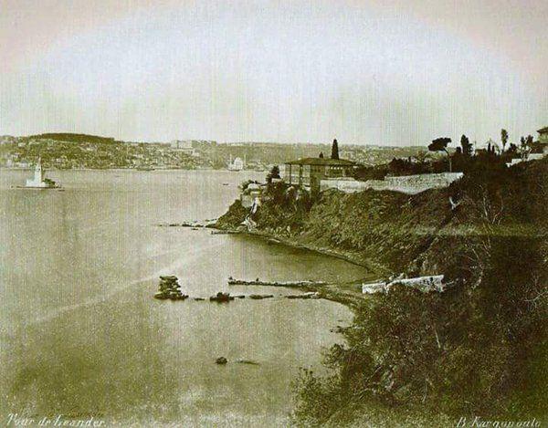 Üsküdar (1875) F: Basile Kargopoulo #birzamanlar #istanlook #nostalji