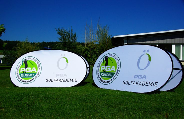Easy-Board, Faltdisplay, Pop-up Display - Classic Werbedisplays für POS-Marketing, Promotion, Golfplatzwerbung, Eventwerbung