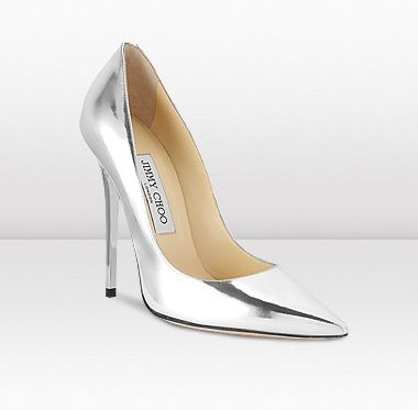 omg! and these mirrored Jimmy Choo shoes! they are fab!