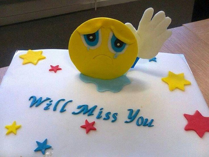 Goodbye Cake Images : 26 best images about Cake: goodbye on Pinterest ...