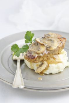 Pork Medallions with Mushroom Marsala Sauce www.bellalimento.com