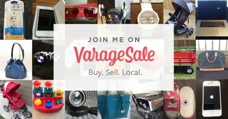 VarageSale San Antonio Sell Your Stuff On The Local Garage Sale App - A Thrifty Diva