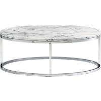 cb2 marble top coffee table - Cb2 Element Couchtisch