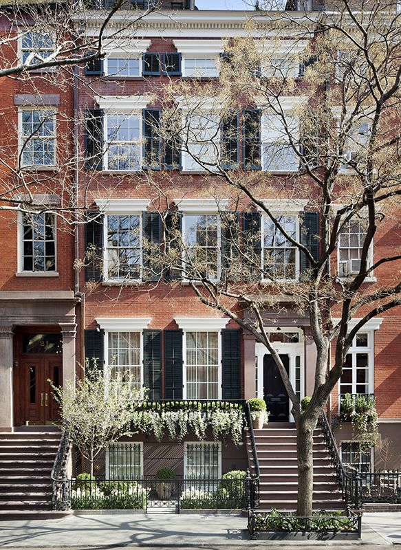 Townhouse in Greenwich Village- Sawyer | Berson