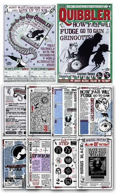 292 best images about Harry Potter - pages to Color ...Quibbler Printable Free