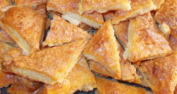 Recept: Ennél egyszerűbb sós süti nem is létezik, sajtos-túrós háromszög 10 perc alatt