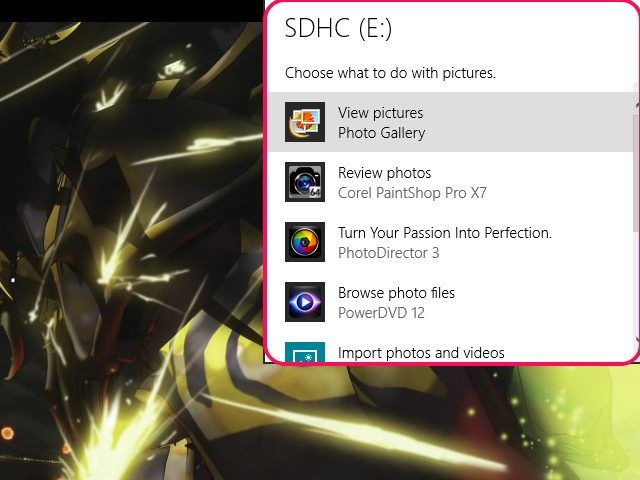 Downloading pictures and photos from your SD card requires that you connect the card to your computer. From there, it's just a bit of copy and paste.
