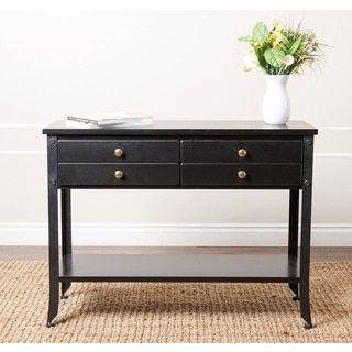 Shop for ABBYSON LIVING 'Antoni' Antiqued Black Console Sofa Table. Get free shipping at Overstock.com - Your Online Furniture Outlet Store! Get 5% in rewards with Club O!
