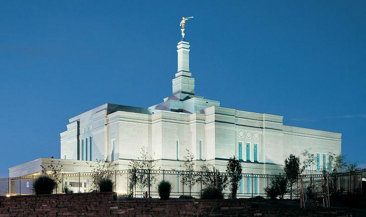 Snowflake Arizona Temple of The Church of Jesus Christ of Latter-day Saints. #LdsTemple