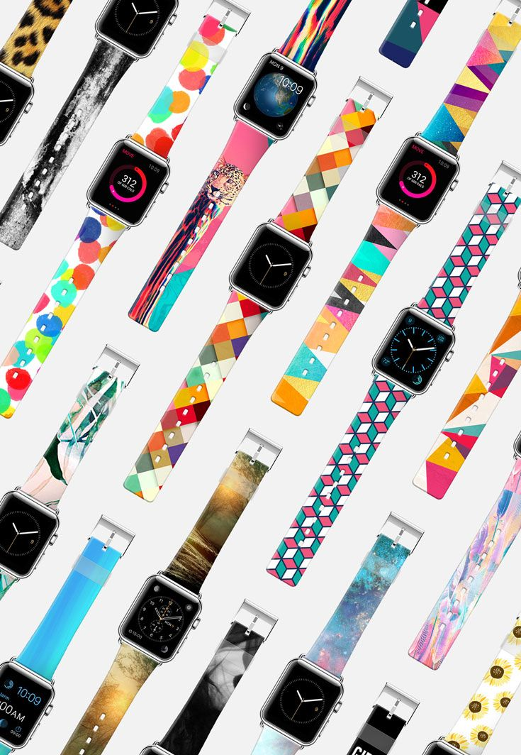 Custom Apple Watch Band by Casetify | Shoot it. Place it. Band it.