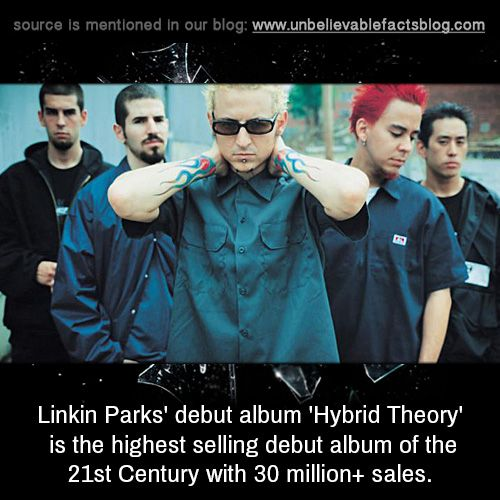 Linkin Parks Debut Album Hybrid Theory Is The Highest
