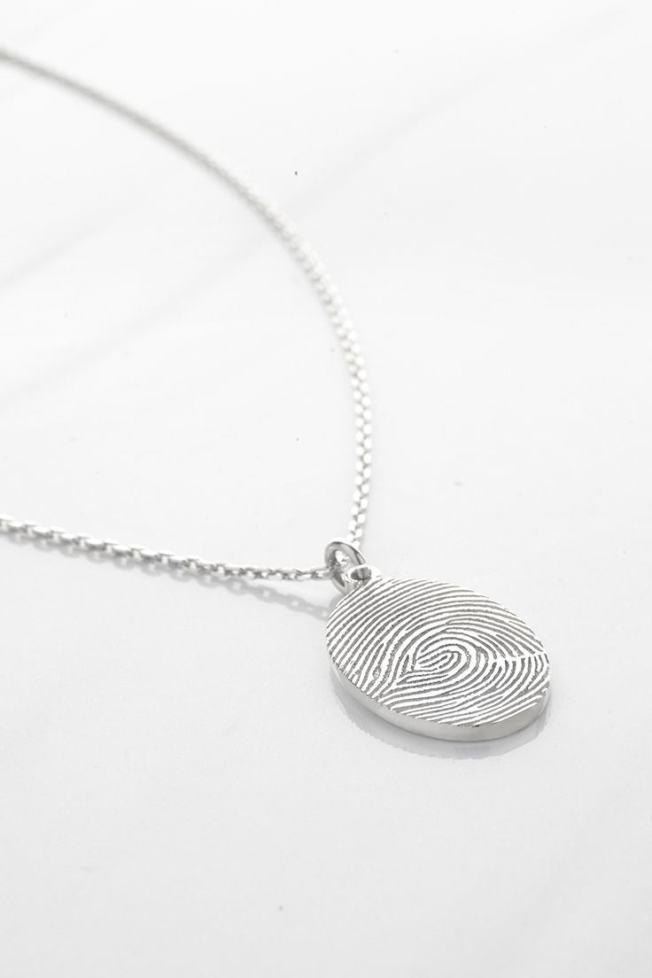 Oval Fingerprint Necklace • Custom fingerprint necklace • Thumbprint Necklace • fingerprint gifts • Sterling silver fingerprint jewelry • Sterling Silver sympathy necklace • Sterling Silver sympathy necklace • Sterling silver memorial necklace • In Memory Of Necklace • Personalized keepsake necklace • In memory of Mom • Remembrance gift • Remembering dad • christmas presents • christmas gifts for her • xmas gift ideas for women • unique christmas gifts