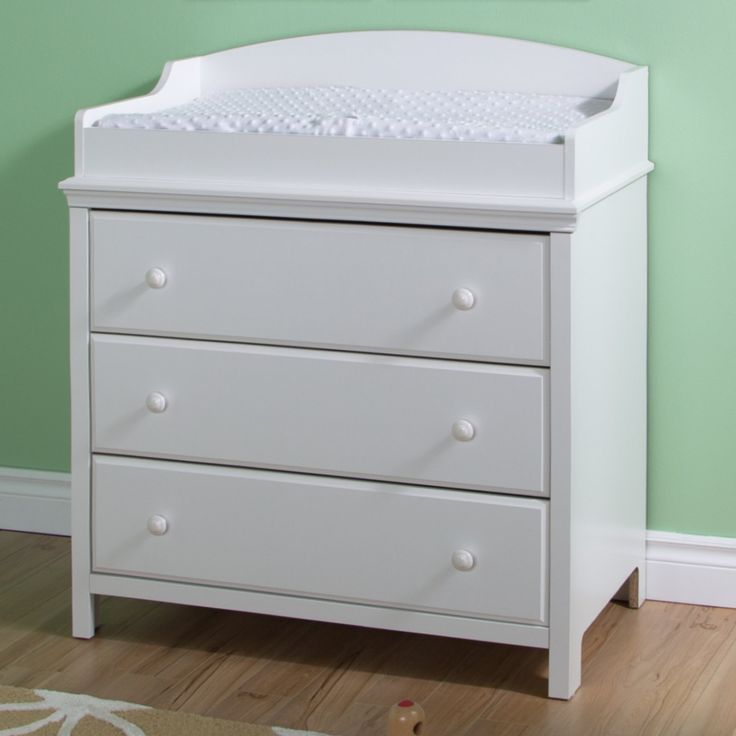 South Shore Cotton Candy Changing Table with Drawers - 3250330