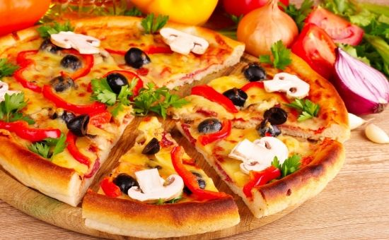 Ммм, вкусняшка, пицца