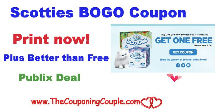 Scotties Tissues BOGO Coupon Plus Better Than Free @ Publix Now ~ Print now while available. Just in time to stock up for the cooler weather*  Click the link below to get all of the details ► http://www.thecouponingcouple.com/scotties-tissues-bogo-coupon-plus-better-than-free-publix-now-print-now-while-available-just-in-time-to-stock-up-for-the-cooler-weather/ #Coupons #Couponing #CouponCommunity  Visit us at http://www.thecouponingcouple.com for more great posts!