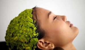 Kuru ve yıpranmış saçlar için avokado maskesi - mucize iksirler