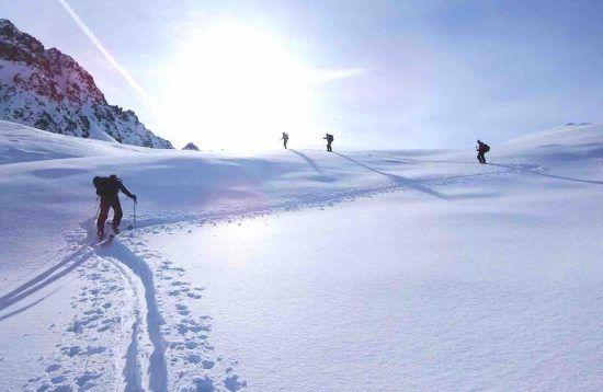 Chamonix Ski Touring Weekend, 3 Days, Snow, France