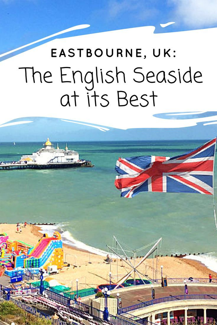 We flung open the drapes and were greeted with the brightest blue sky and sea below. Classical music wafted through the air and the Union Jack flag waved proudly by the sandy boardwalk. Although we only had an overnight in Eastbourne, UK, I couldn't wait to see what this seaside town had to offer.: