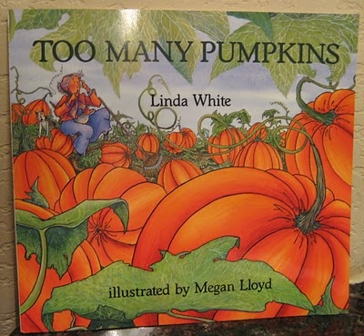 Pumpkin Theme - could have baby shower guests sign the inside cover