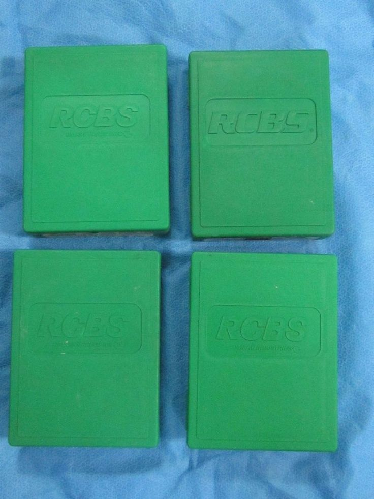 RCBS Reloading Die Cases - Lot of 4 #RCBS
