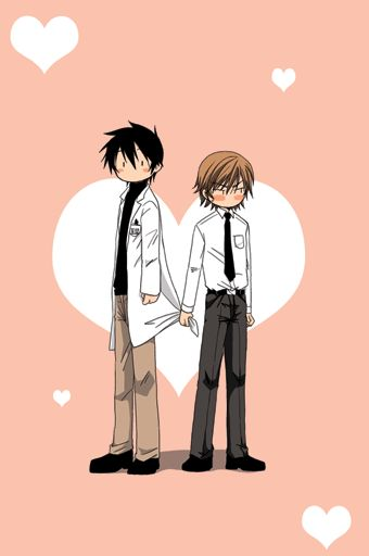 Junjou Egoist- Hiro and Nowaki