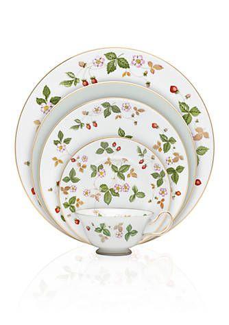 #wedgwood  Wild Strawberry Dinnerware. My special occasion #dinnerware. #wildstrawberry #tradition