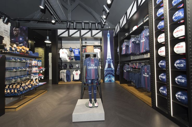 Opening of the new official store of the Paris Saint-Germain at Bercy Village