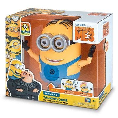 Despicable Me 3 - Talking Minion Dave Action Figure