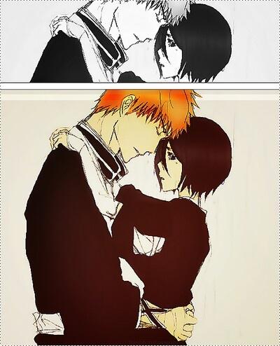 Ichigo x Rukia... ah, if only...