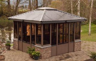 25 best ideas about enclosed gazebo on pinterest garden. Black Bedroom Furniture Sets. Home Design Ideas