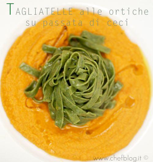 Tagliatelle alle ortiche | Le ricette di Chefblog.it