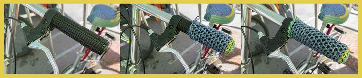 """Un placer este domingo pasado haber compartido sol, bicis y lana en el zawpcraft  del barrio de Zorrozaurre (Bilbao).   Con el fin de ver más bicicletas y más lana en las calles, comienzo junto a @CiclofficinaBilbao un nuevo proyecto bicilanero. Queremos animar al uso de la bici, y cómo no?!, al uso del ganchillo y la lana. Si os interesa ambos temas, podeis uniros al grupo en el Facebook """"Tienes Bici. Tienes Lana"""" e ir compartiendo fotografías de bicicletas al más estilo """"knitting""""."""