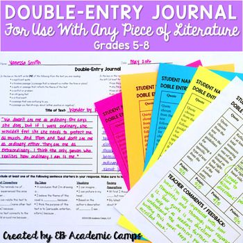 double entry journal model essay A double entry reading journal is one way to interact with what we read, increase   you can also mine your journal for ideas for essays and papers, and an.