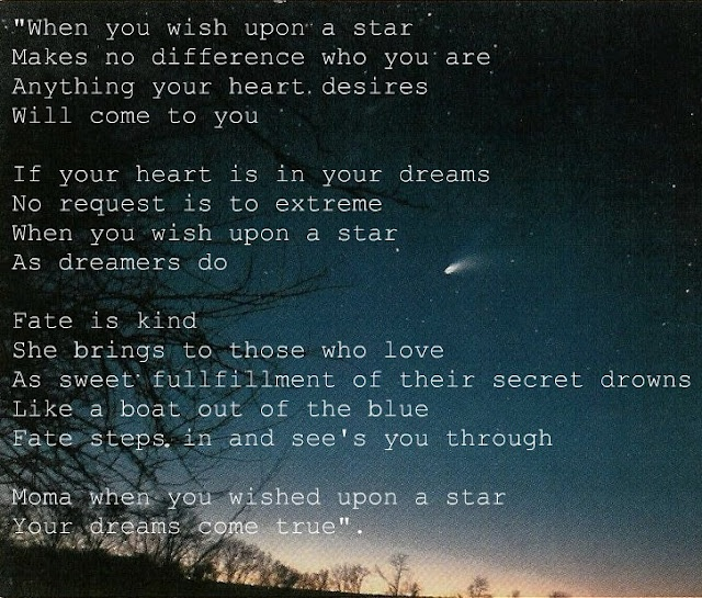 When You Wish Upon A Star Quotes Pinterest Wish Stars And