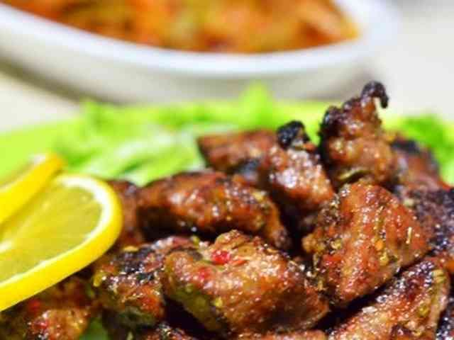 トルコ料理☆牛レバーのソテーの画像