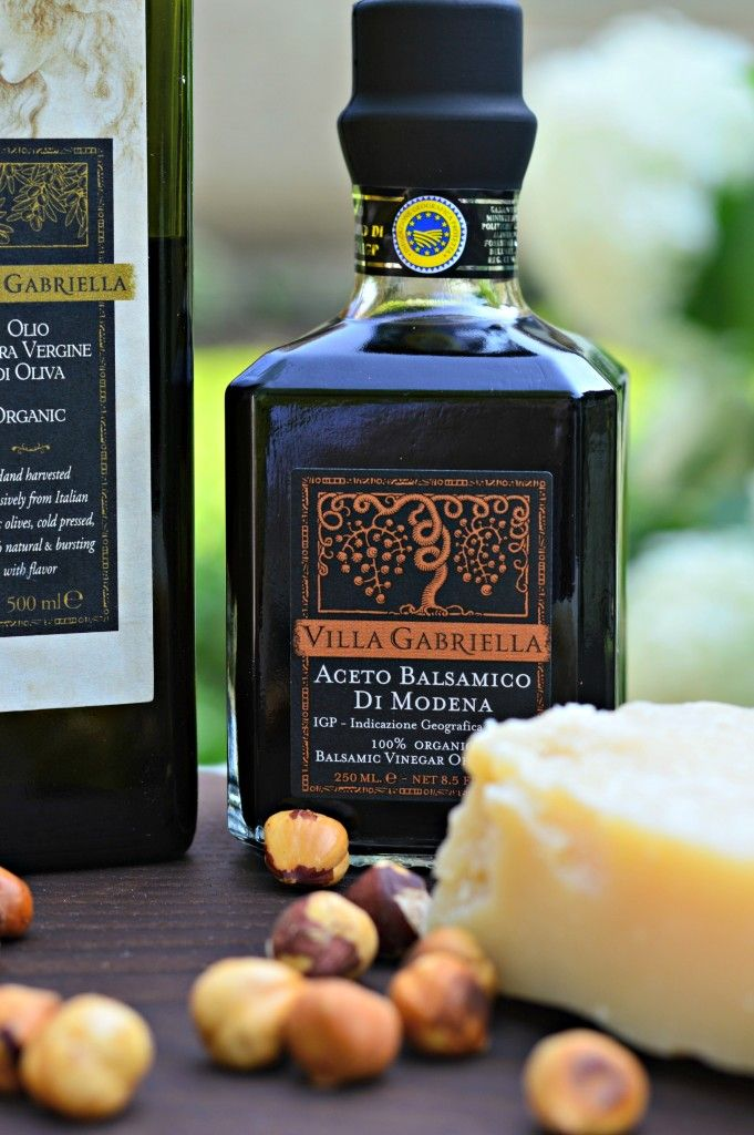 My favorite organic Balsamic vinegar from Villa Gabriella - amazing on Parmesan or fruit.